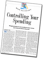 Controlling Your Spending